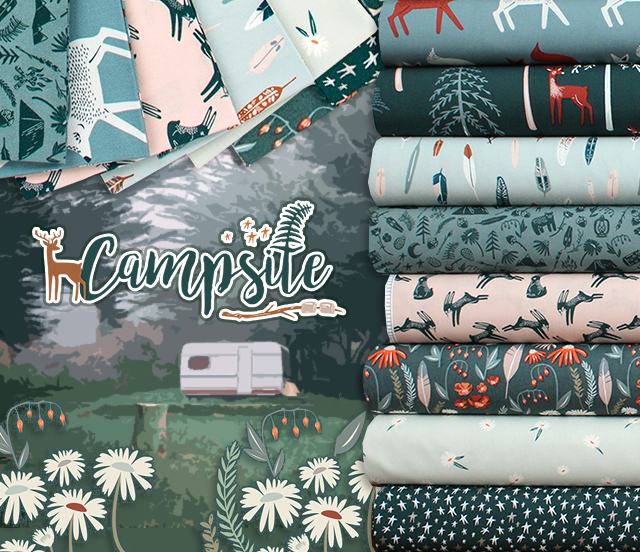 Art Gallery Fabrics Campsite Collection