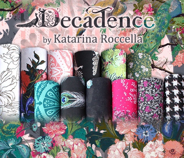 Art Gallery Fabrics Decadence Collection