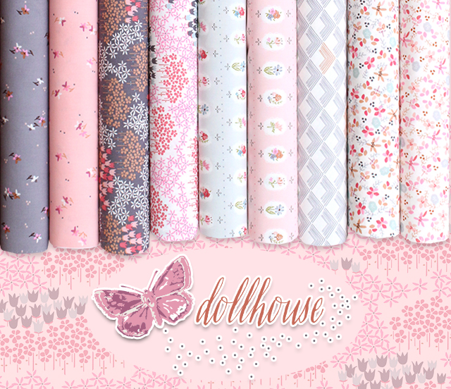 Art Gallery Fabrics Dollhouse Collection