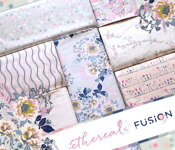 Art Gallery Fabrics Ethereal Fusion Collection
