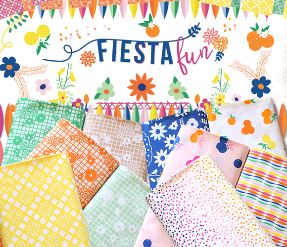 Art Gallery Fabrics Fiesta Fun Collection
