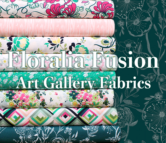 Art Gallery Fabrics Floralia Fusion Collection
