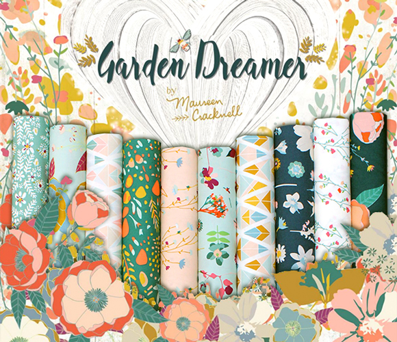 Art Gallery Fabrics Garden Dreamer Collection