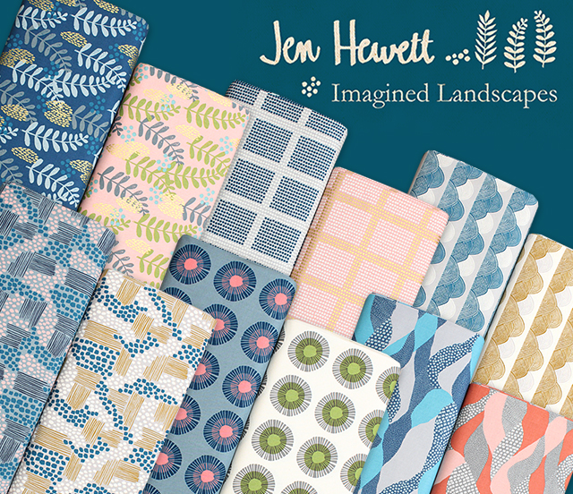 COTTON+STEEL Imagined Landscapes Collection