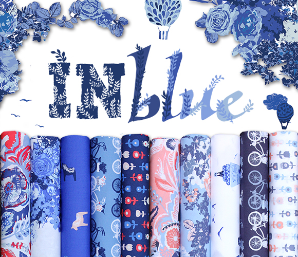 Art Gallery Fabrics Inblue Collection