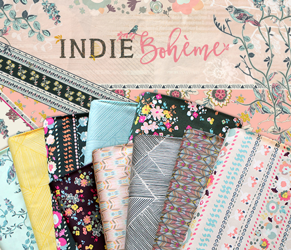 Art Gallery Fabrics Indie Boheme Collection