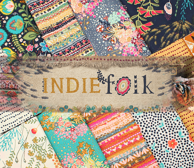 Art Gallery Fabrics Indie Folk Collection