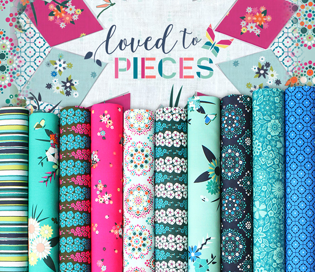 Art Gallery Fabrics Loved to Pieces Collection