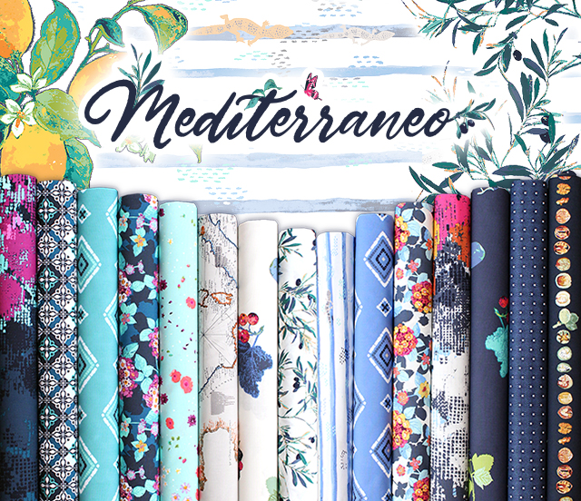 Art Gallery Fabrics Mediterraneo Collection