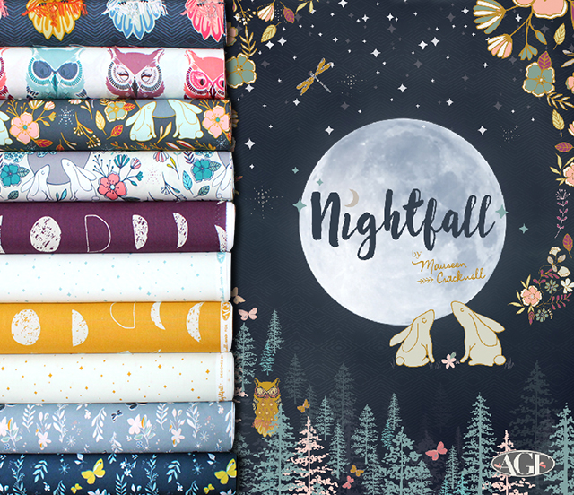 Art Gallery Fabrics Nightfall Collection