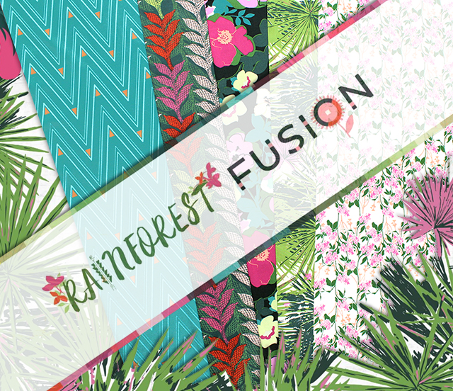 Art Gallery Fabrics Rainforest Fusion Collection