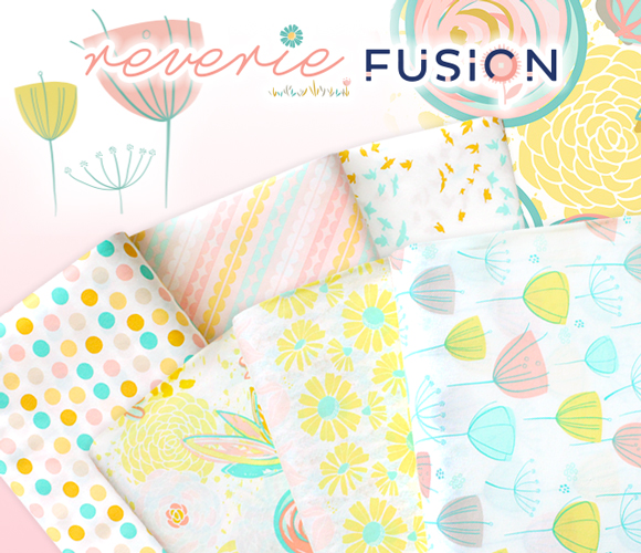 Art Gallery Fabrics Reverie Fusion Collection