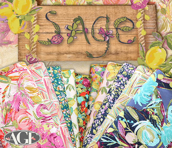 Art Gallery Fabrics Sage Collection