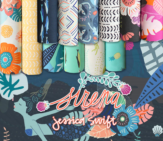 Art Gallery Fabrics Sirena Collection