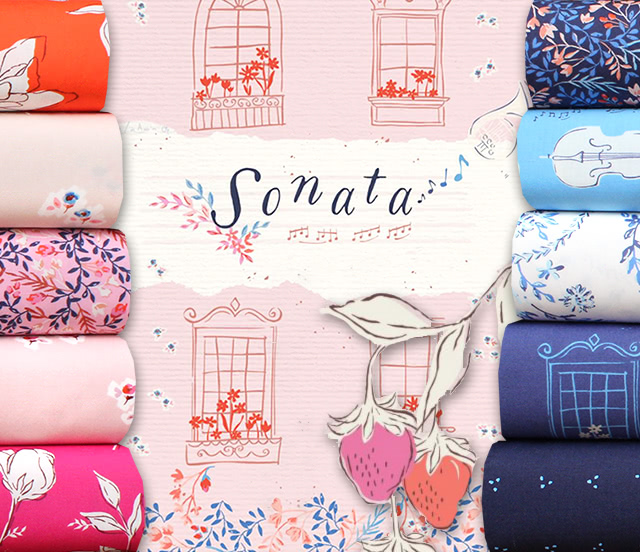 Art Gallery Fabrics Sonata Collection
