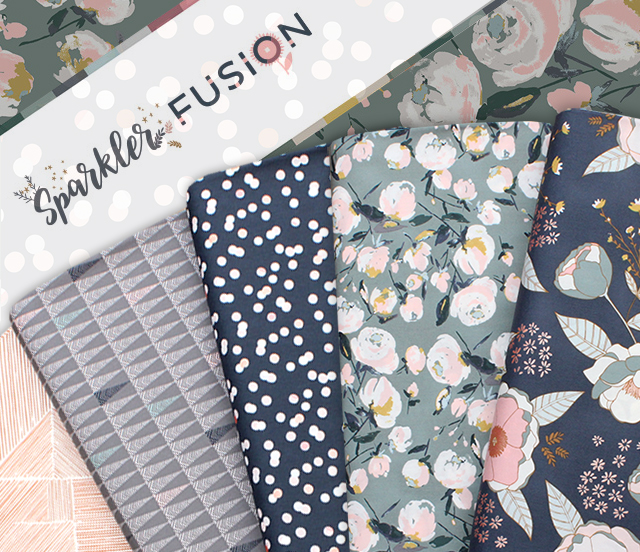 Art Gallery Fabrics Sparkler Fusion Collection