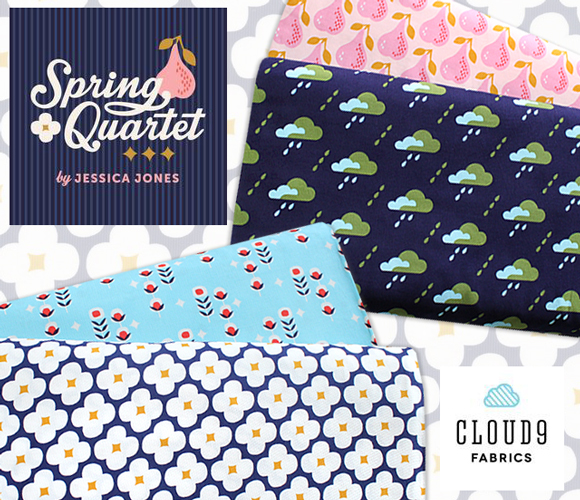 Cloud9 Fabrics Spring Quartet Collection