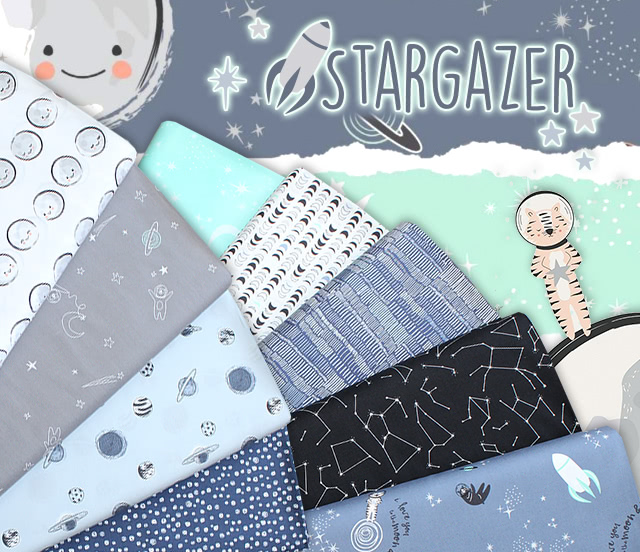 Art Gallery Fabrics Stargazer Collection