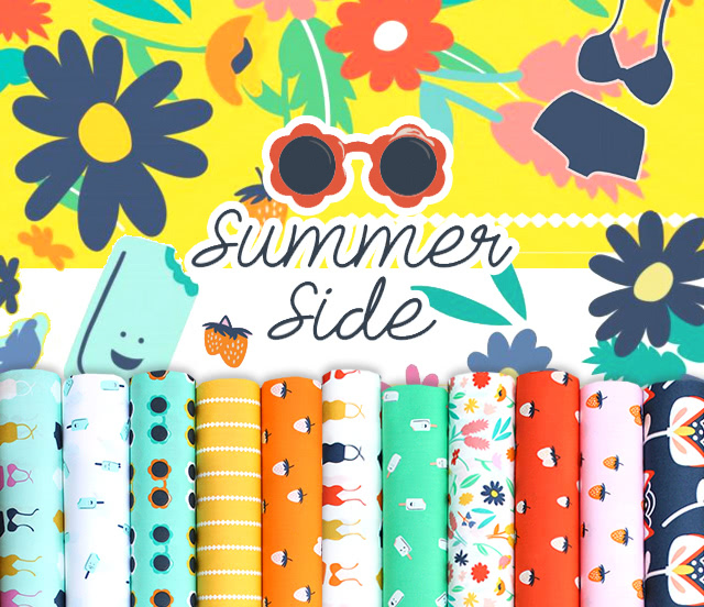 Art Gallery Fabrics Summer Side Collection
