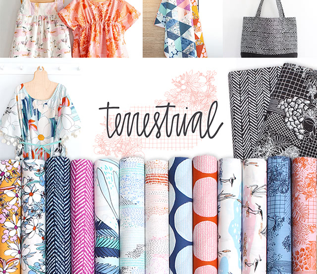Cloud9 Fabrics Terrestrial Collection
