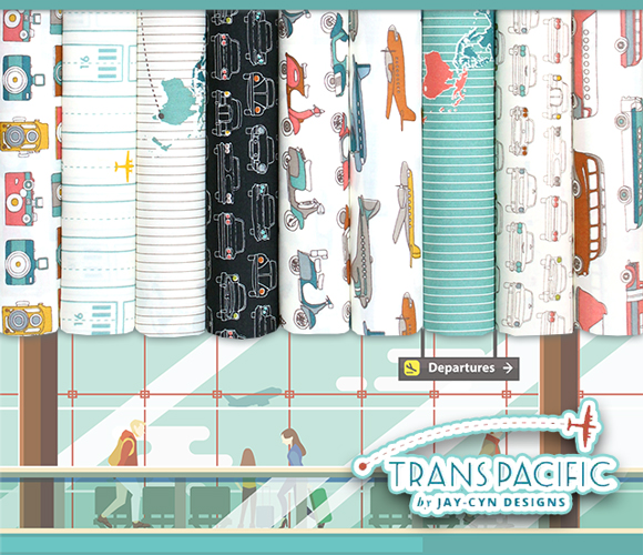 Birch Fabrics Trans Pacific Collection