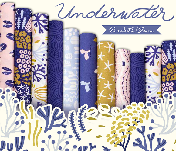 Cloud9 Fabrics Underwater Collection