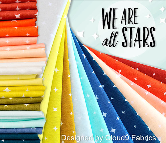 Cloud9 Fabrics We Are All Stars Collection