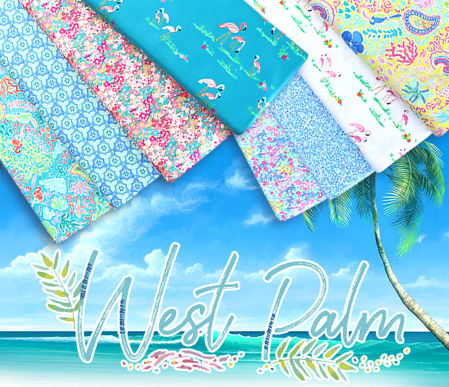 Art Gallery Fabrics West Palm Collection