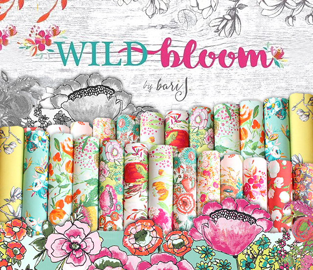 Art Gallery Fabrics Wild Bloom Collection