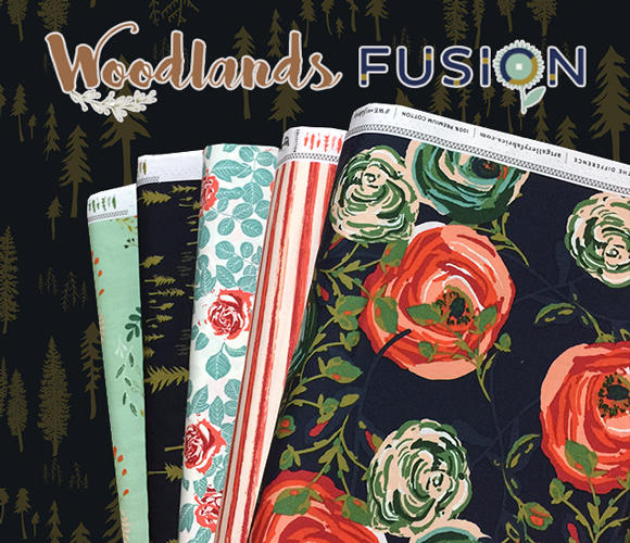 Art Gallery Fabrics Woodlands Fusion Collection