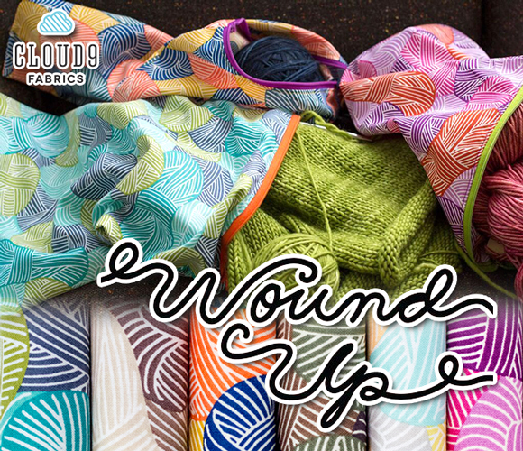 Cloud9 Fabrics Wound Up Collection