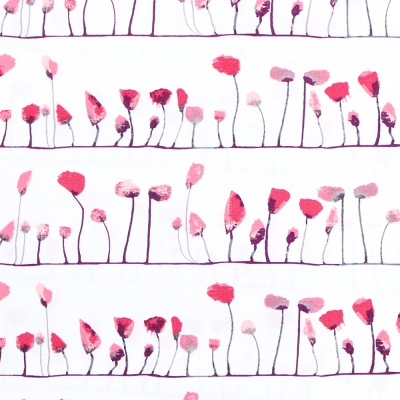 【METERS / 1m単位】Art Gallery Fabrics Wonderland Petal Flamingoes Love