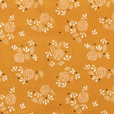 Dashwood Studio Dovestone DOVE 1362 Floral on Mustard