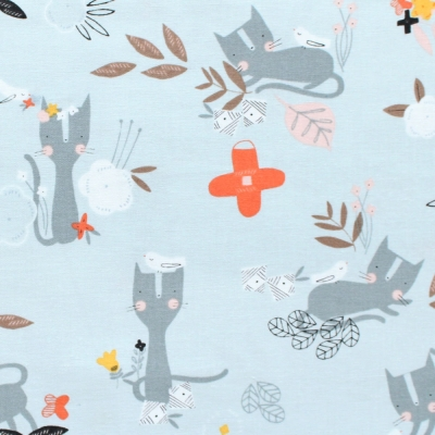 Dashwood Studio Emi & The Bird EMI 1401 Cat & Bird Lt Grey
