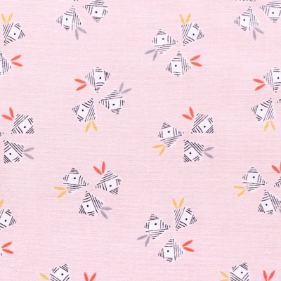 Dashwood Studio Emi & The Bird EMI 1408 Floral Lt Pink