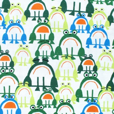Cloud9 Fabrics Ed Emberley Favorites 206355 Frogs