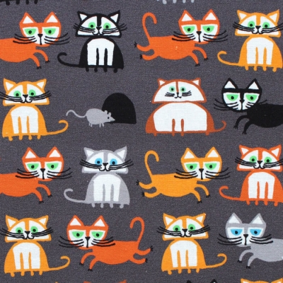 Cloud9 Fabrics Ed Emberley Favorites 206369 Cats
