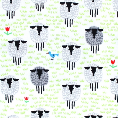 Cloud9 Fabrics Ed Emberley Favorites 206367 Sheep