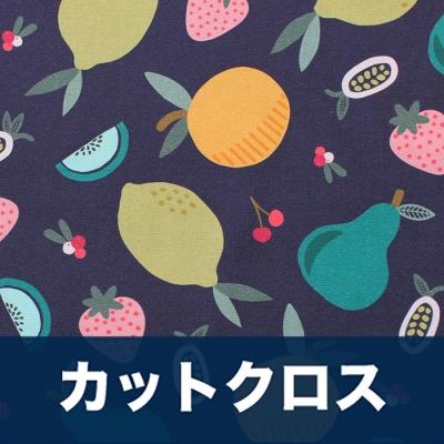 カットクロス Paintbrush Studio Fabrics Fruity 120-19843 Purple Fruit Toss