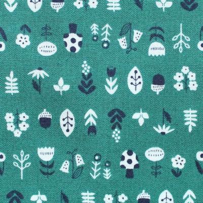 Felicity Fabrics Burgess Field in Begonia 610008