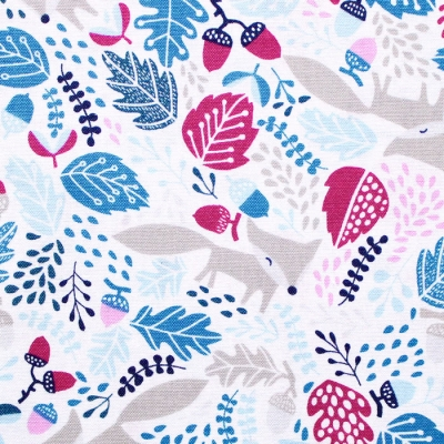 Felicity Fabrics Burgess Field in Petunia 610002