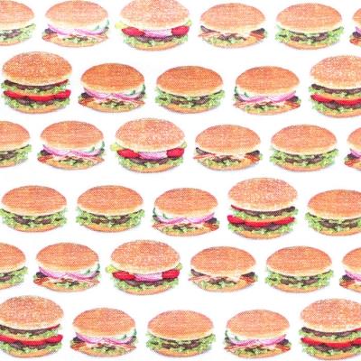 Robert Kaufman Chow Time AMKD-19785-202 Small Burgers Americana