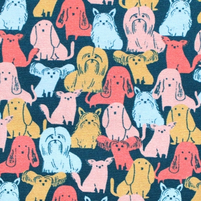Paintbrush Studio Fabrics Best in Show 120-21557 Dog Breeds Multi