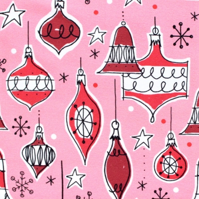Cloud9 Fabrics Jingle Mingle 226952 Vintage Ornaments
