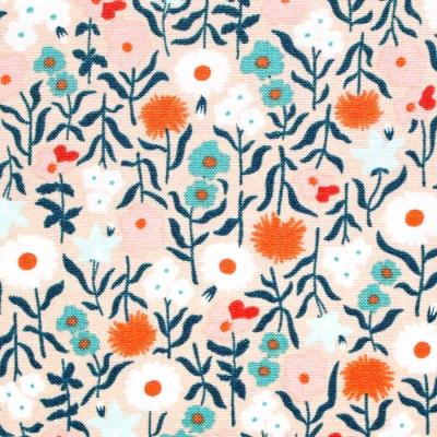 Felicity Fabrics Hemma in Turquoise 610049