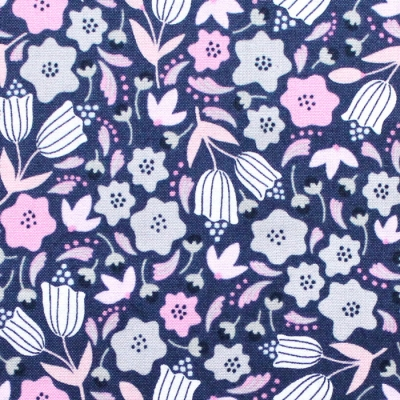 Felicity Fabrics Alpine Meadow in Bluebell 610035
