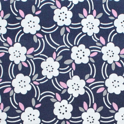 Felicity Fabrics Alpine Meadow in Bluebell 610032