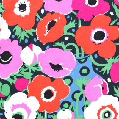 Michael Miller Fabrics Atelier DC8684-CHER Windflowers Cherry