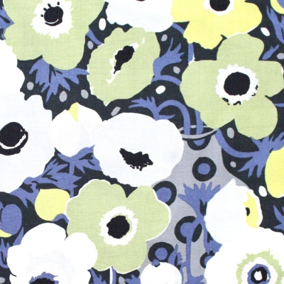 Michael Miller Fabrics Atelier DC8684-OLIV Windflowers Olive