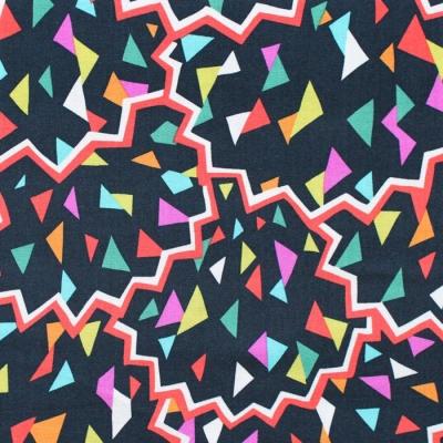Michael Miller Fabrics Atelier DC8685-CHER  Paper Fans Black